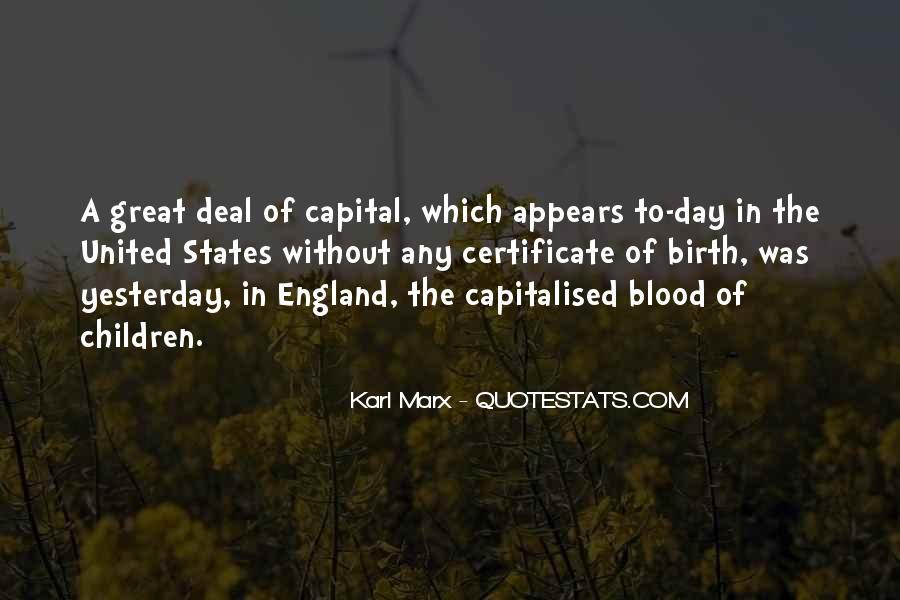 Karl Marx Quotes #500647