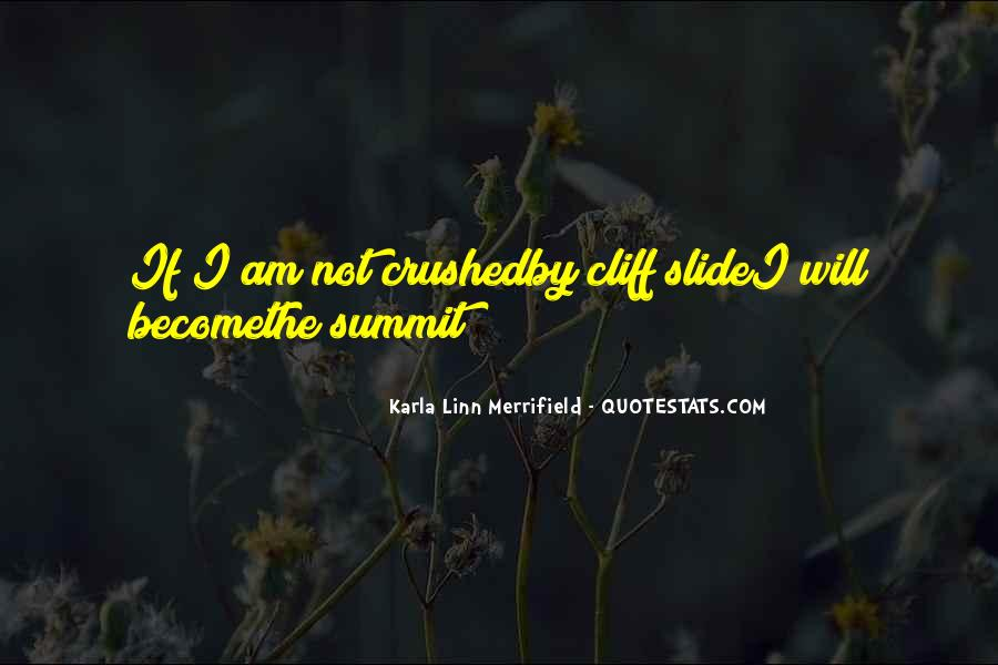 Karla Linn Merrifield Quotes #1637515