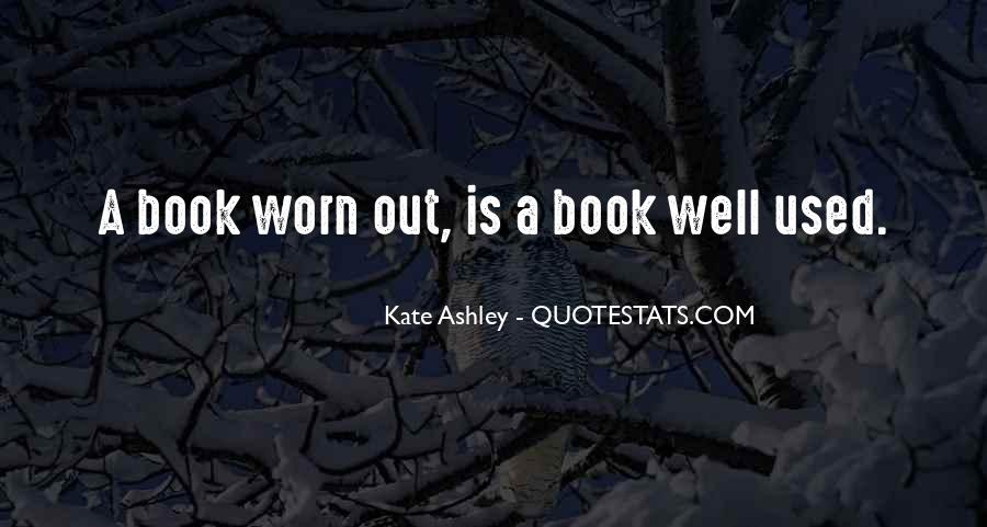 Kate Ashley Quotes #258851