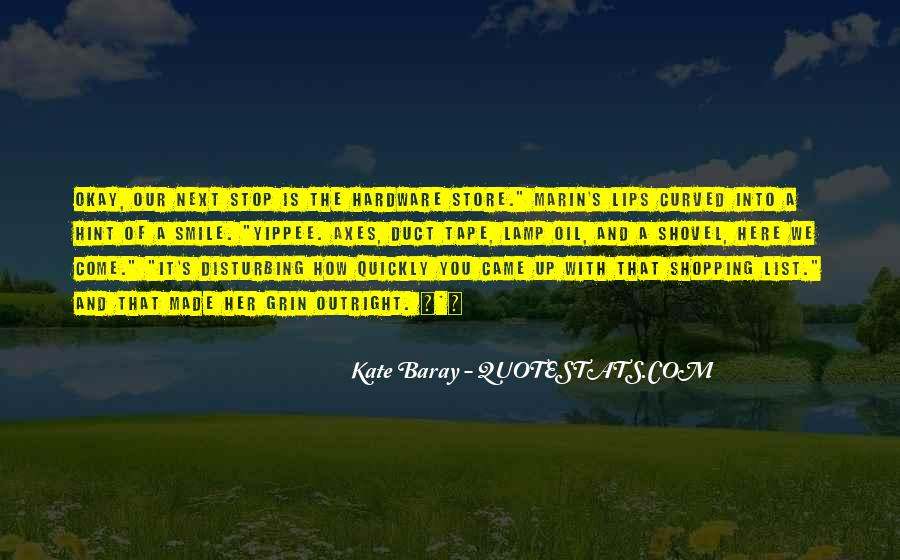 Kate Baray Quotes #1562762