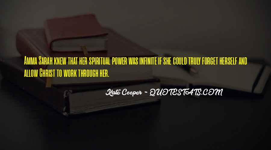 Kate Cooper Quotes #1732411