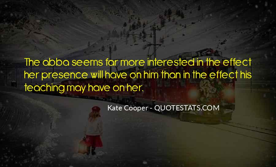 Kate Cooper Quotes #35213