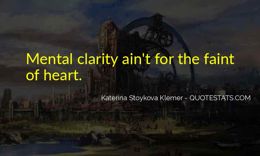 Katerina Stoykova Klemer Quotes #1056655
