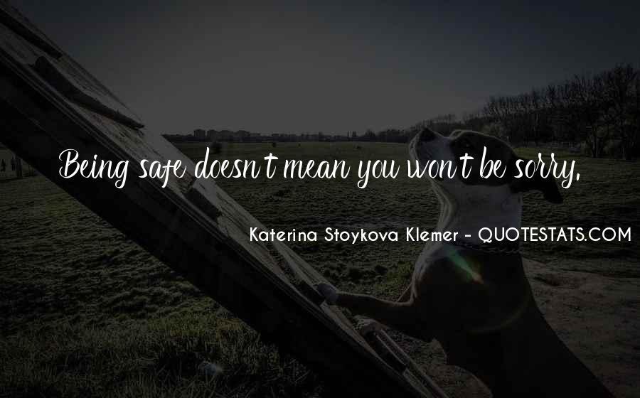 Katerina Stoykova Klemer Quotes #112064