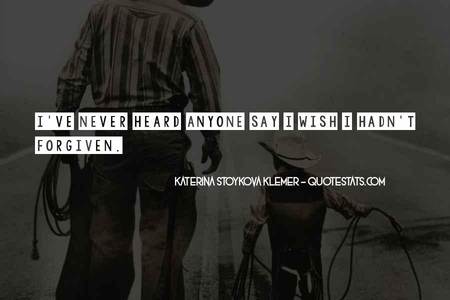 Katerina Stoykova Klemer Quotes #1302500