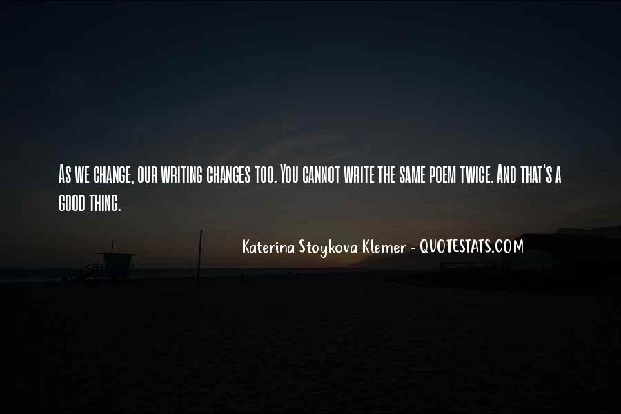 Katerina Stoykova Klemer Quotes #1435126