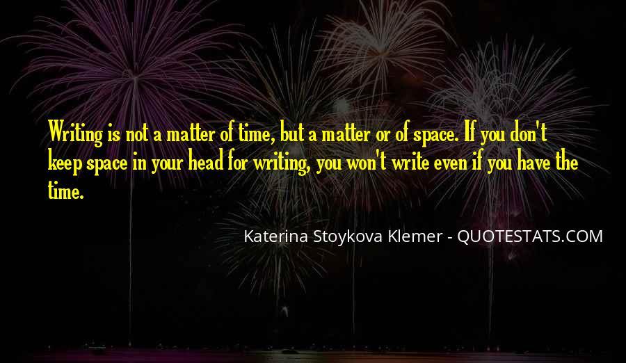 Katerina Stoykova Klemer Quotes #1716107