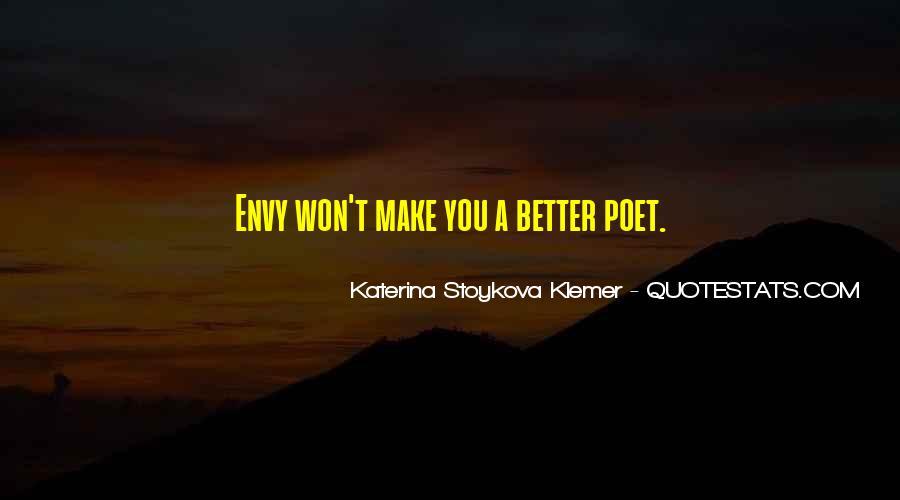 Katerina Stoykova Klemer Quotes #259897