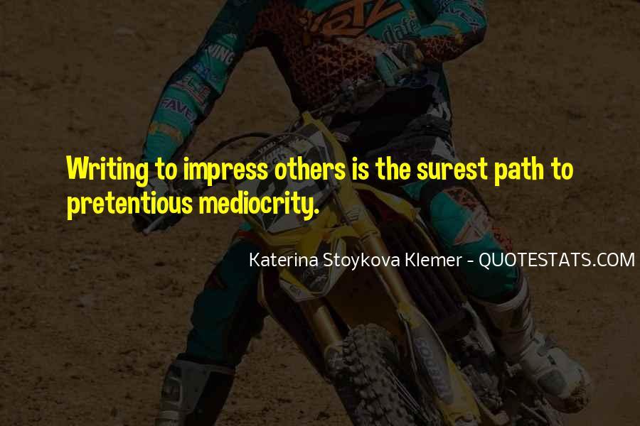 Katerina Stoykova Klemer Quotes #508021