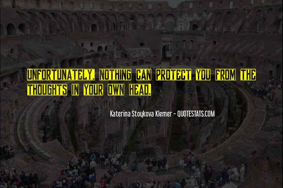 Katerina Stoykova Klemer Quotes #577427