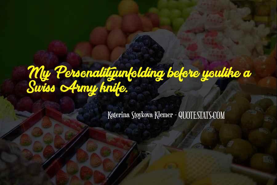 Katerina Stoykova Klemer Quotes #602209