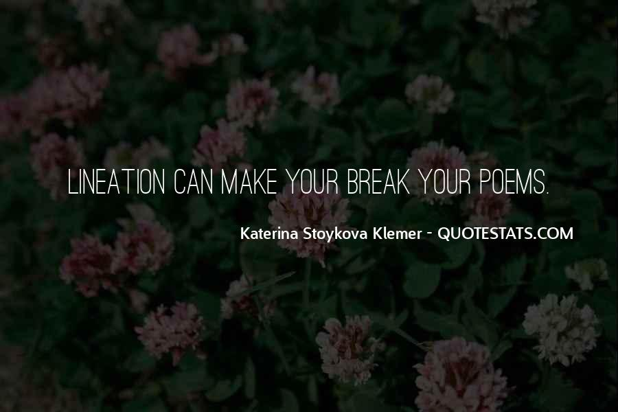Katerina Stoykova Klemer Quotes #742100