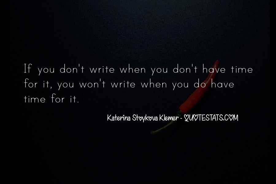 Katerina Stoykova Klemer Quotes #803084