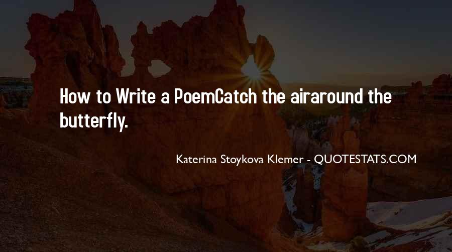 Katerina Stoykova Klemer Quotes #919172