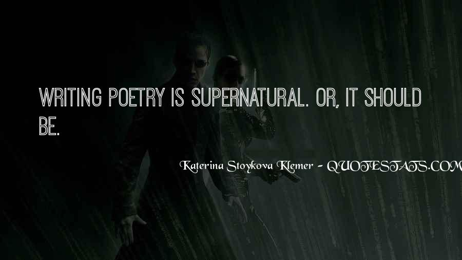 Katerina Stoykova Klemer Quotes #97356