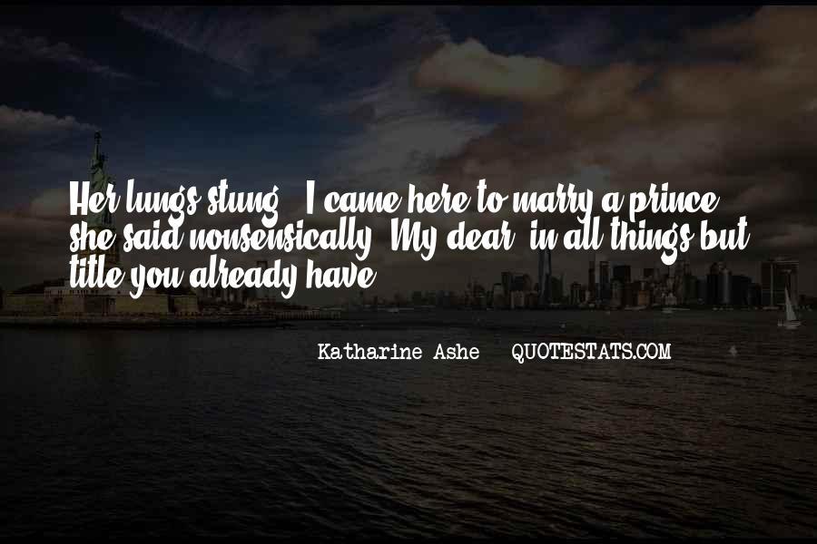 Katharine Ashe Quotes #1001320