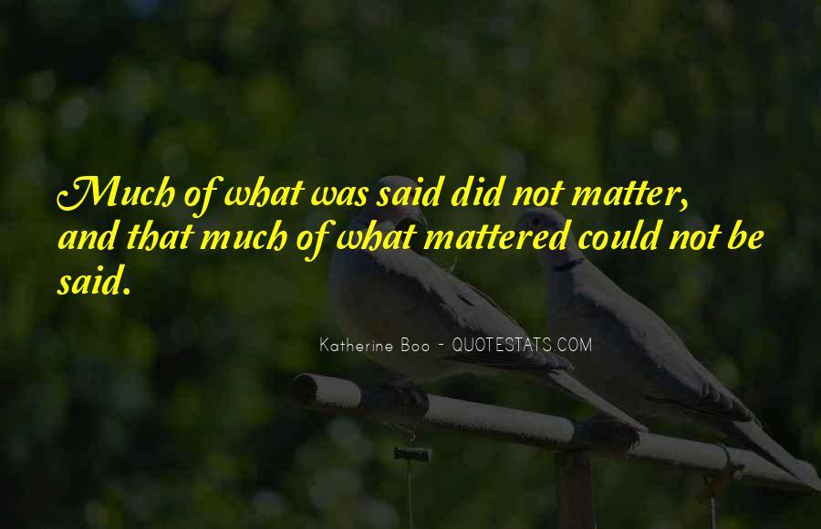 Katherine Boo Quotes #1842135