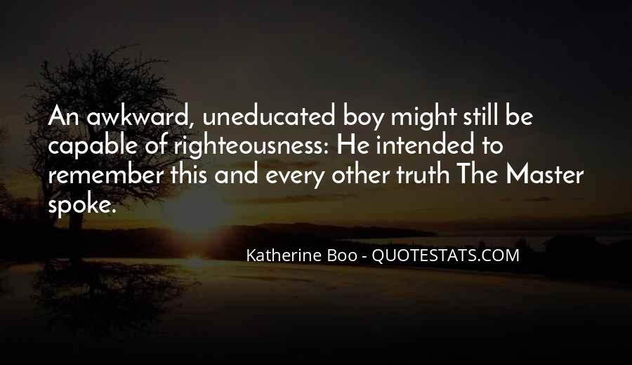 Katherine Boo Quotes #408566