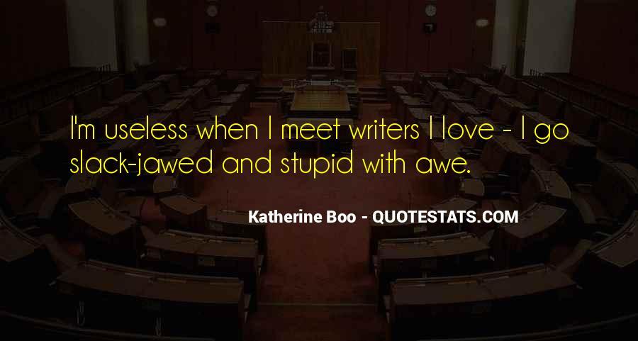 Katherine Boo Quotes #649747