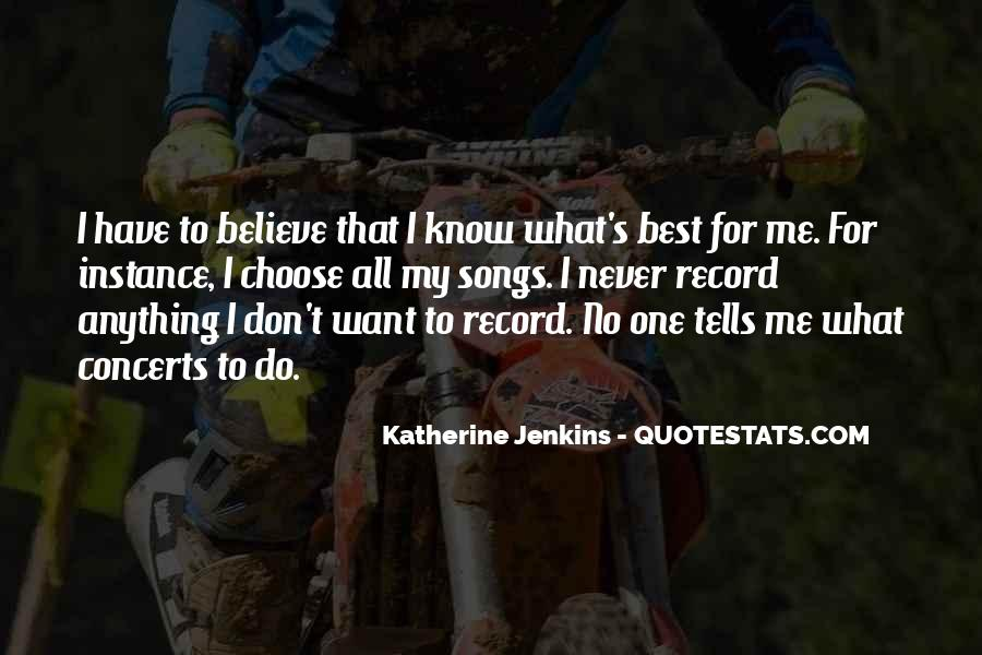Katherine Jenkins Quotes #103026