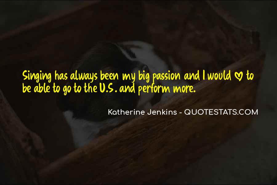 Katherine Jenkins Quotes #61081