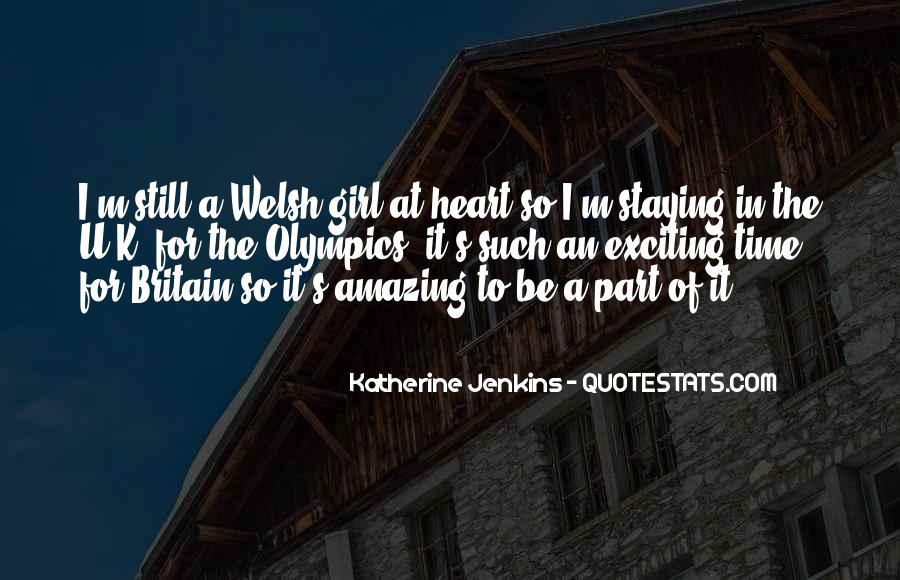 Katherine Jenkins Quotes #870146