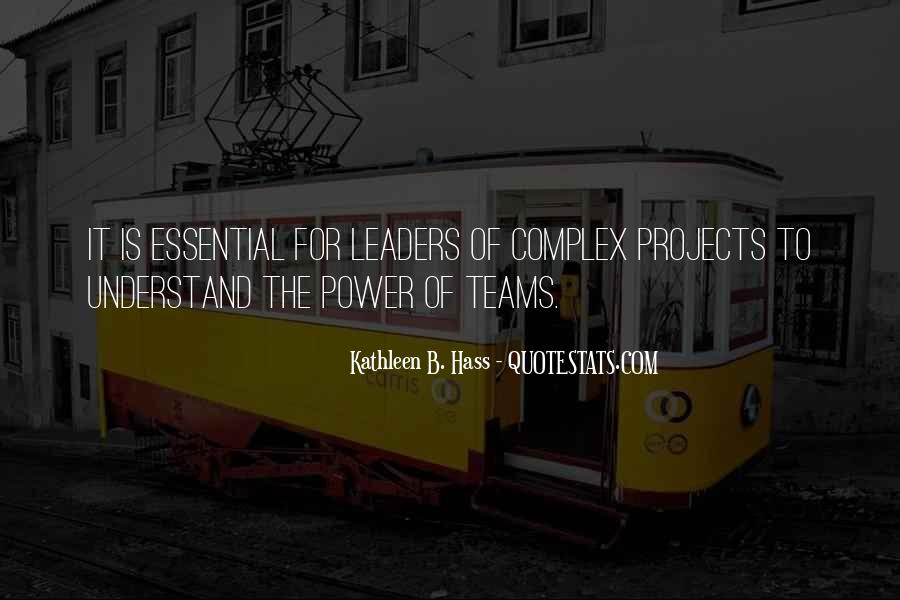 Kathleen B. Hass Quotes #1369483