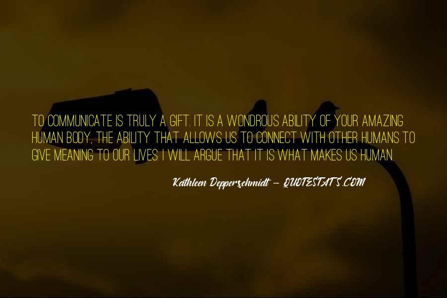 Kathleen Depperschmidt Quotes #289001