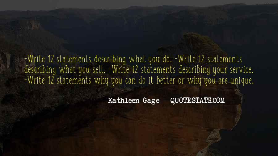 Kathleen Gage Quotes #298309