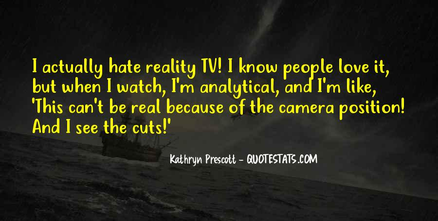 Kathryn Prescott Quotes #393991