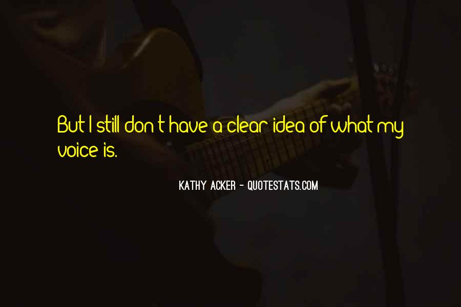 Kathy Acker Quotes #386921