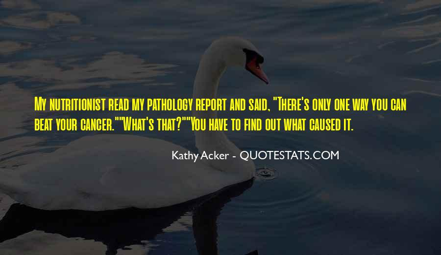 Kathy Acker Quotes #983971