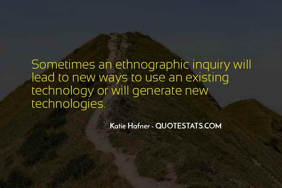 Katie Hafner Quotes #403071