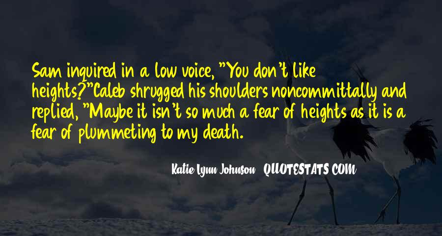 Katie Lynn Johnson Quotes #152573