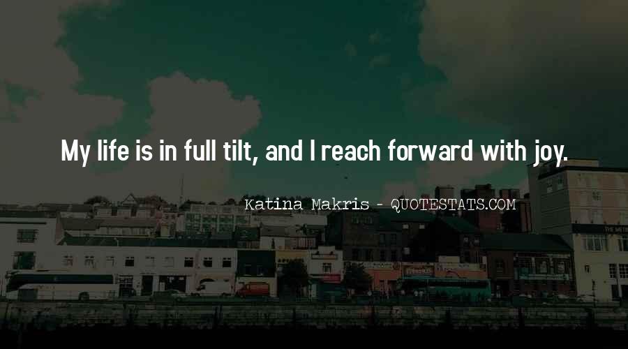 Katina Makris Quotes #1096669