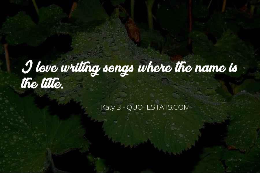 Katy B Quotes #1588005