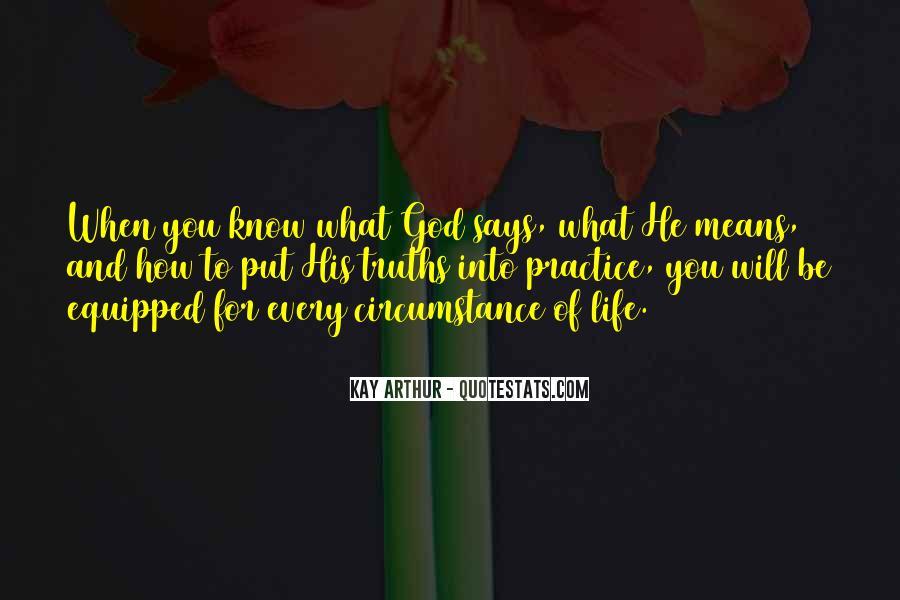 Kay Arthur Quotes #1259871