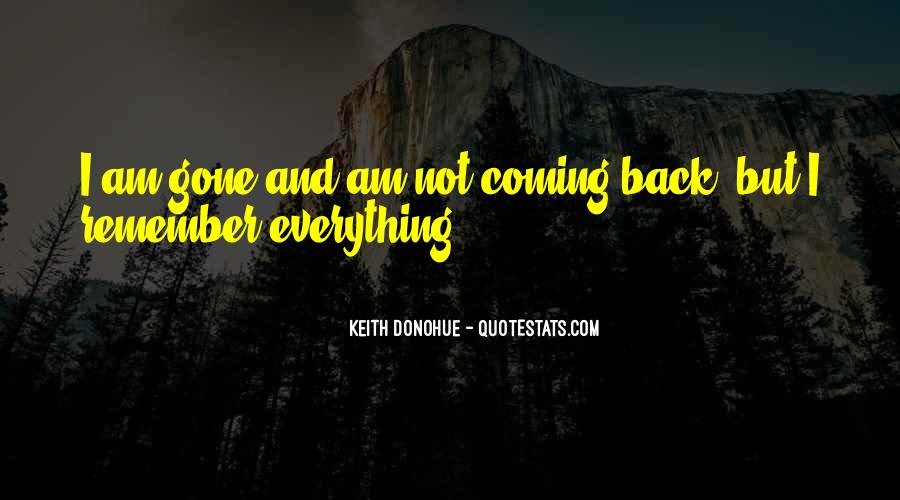 Keith Donohue Quotes #1167178