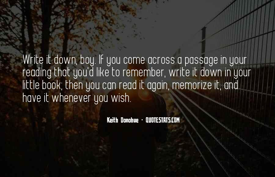 Keith Donohue Quotes #324555