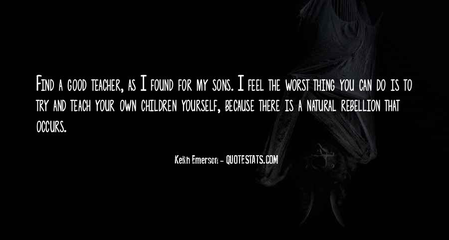 Keith Emerson Quotes #1124751