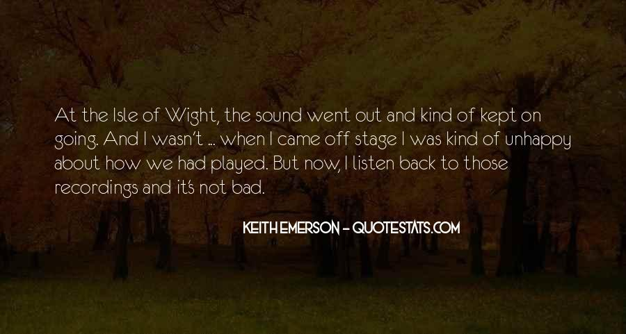 Keith Emerson Quotes #1878507