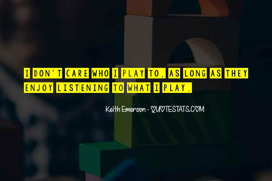 Keith Emerson Quotes #852566