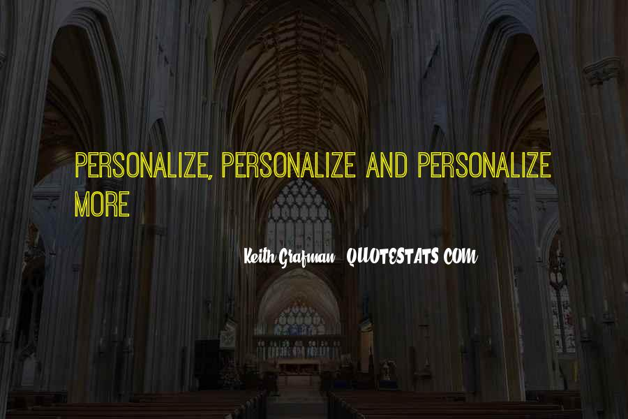 Keith Grafman Quotes #900248