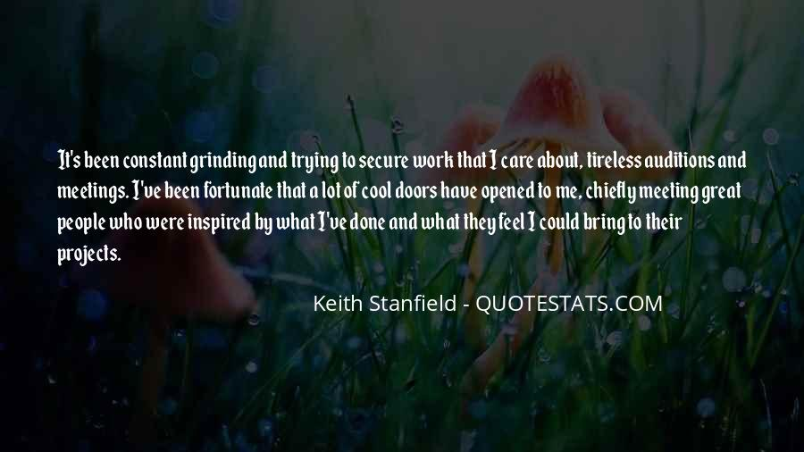 Keith Stanfield Quotes #404371