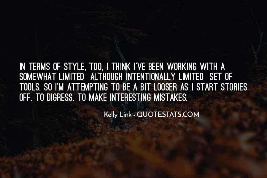 Kelly Link Quotes #1103228