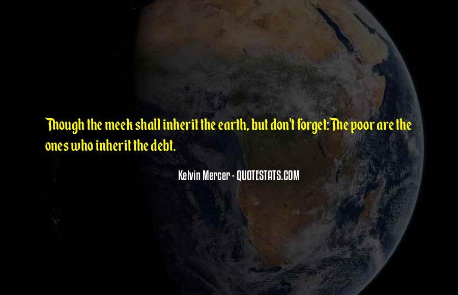 Kelvin Mercer Quotes #425602