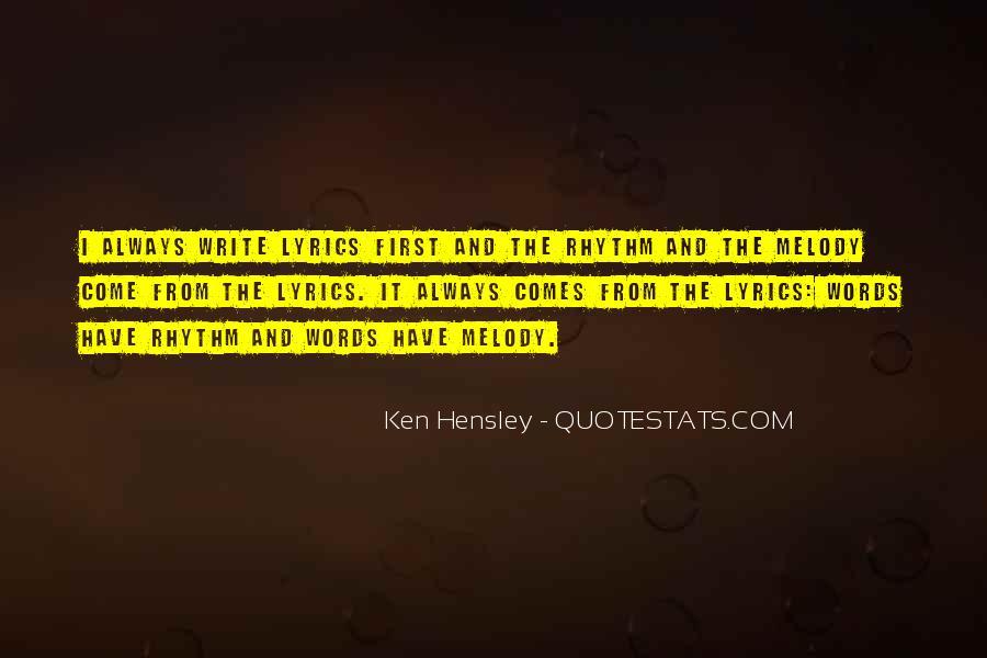 Ken Hensley Quotes #899475