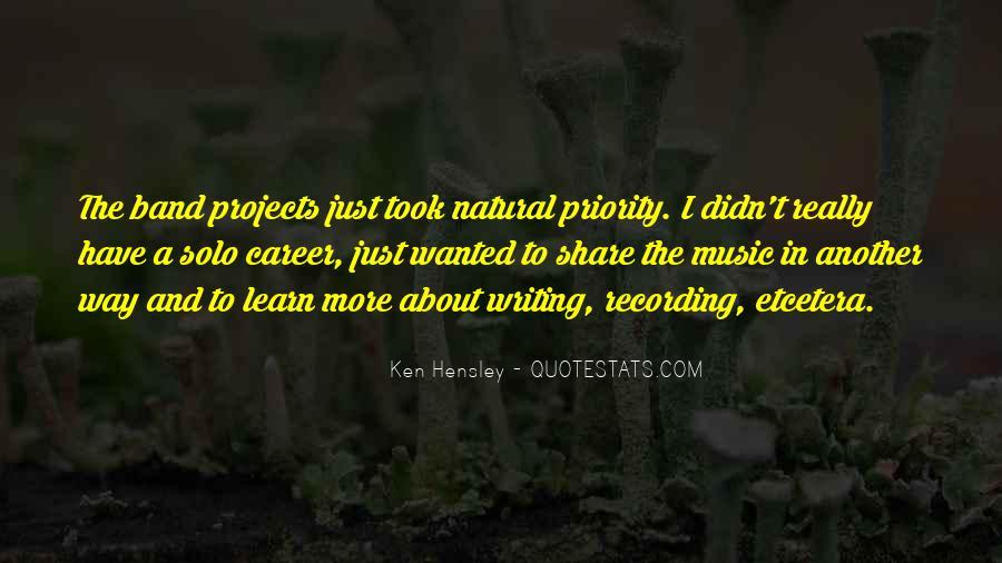 Ken Hensley Quotes #919011