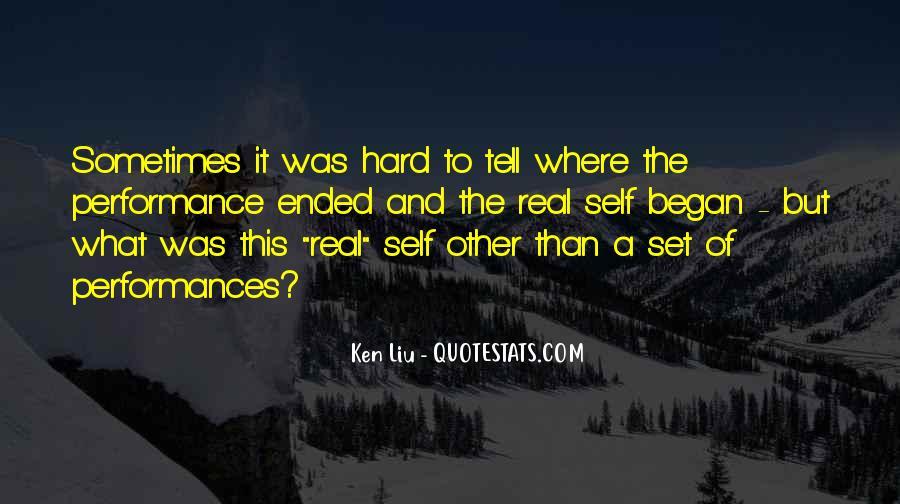 Ken Liu Quotes #188405