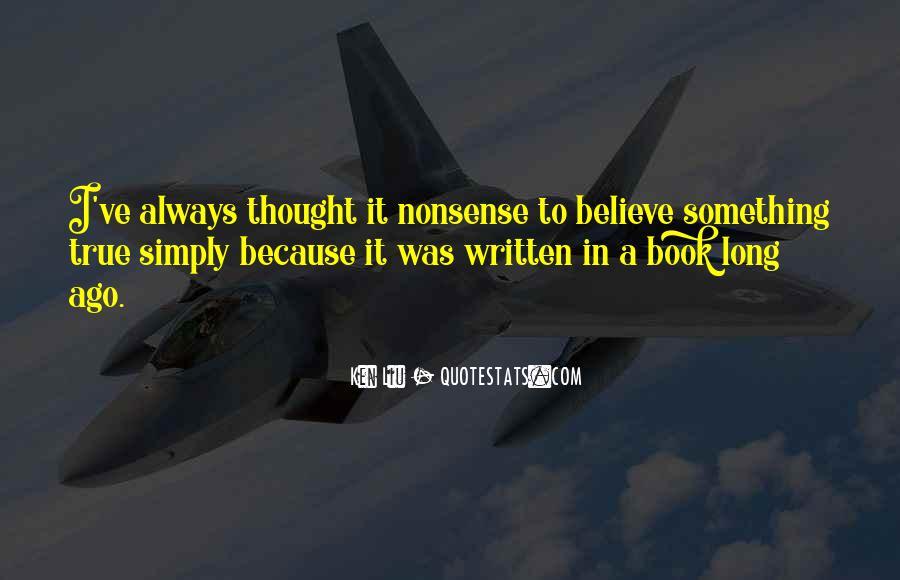 Ken Liu Quotes #812277